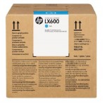 HP LX600 3-litre Cyan Latex Scitex Ink Cartridge (CC586A)