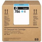 Genuine HP CC589A 3-liter Light Cyan Latex Scitex Ink Cartridge LX600