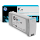 Genuine HP C4934A 680-ml Light Cyan Dye Ink Cartridge HP 81